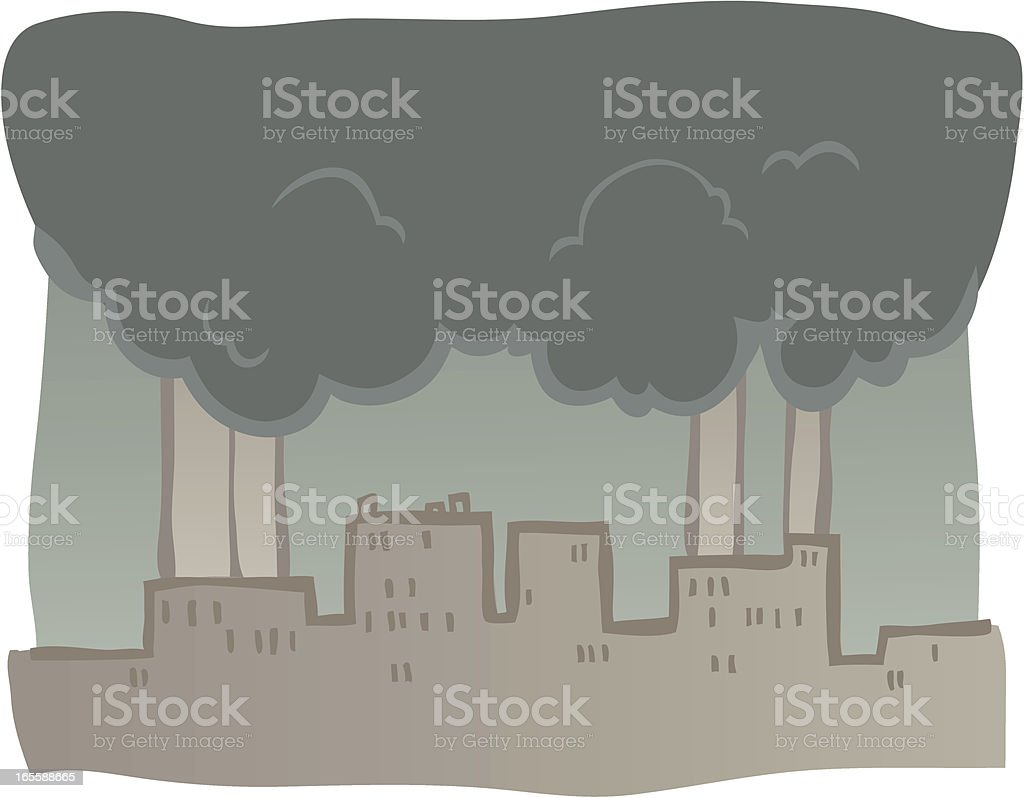 Polluted skies royalty-free polluted skies stock vector art & more images of backgrounds