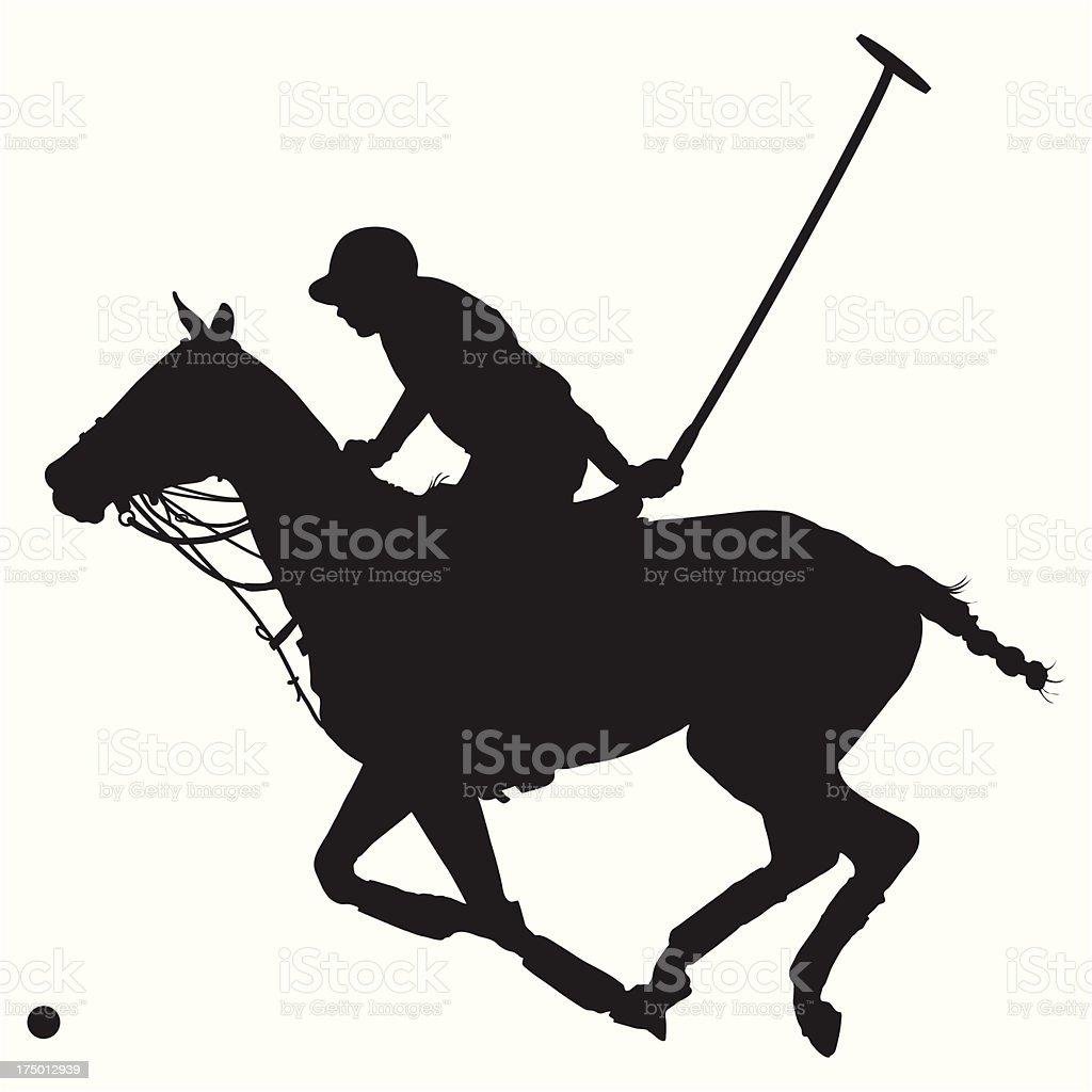 Polo Pony Silhouette