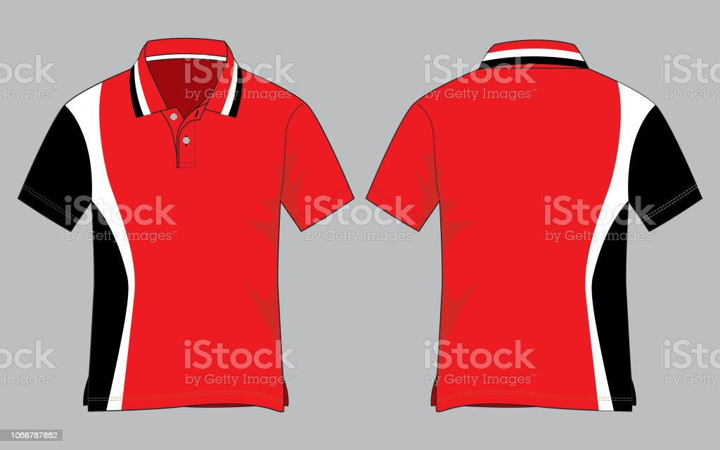 exquisite design high quality guarantee clear-cut texture Polo Shirt Design Vector Stock Illustration - Download Image ...