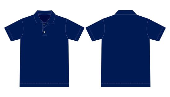 Polo Shirt Vector for Template