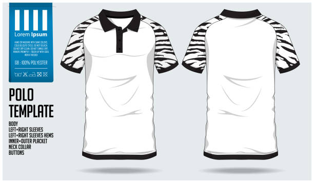 Royalty free club soccer clip art vector images for Polo shirt design template