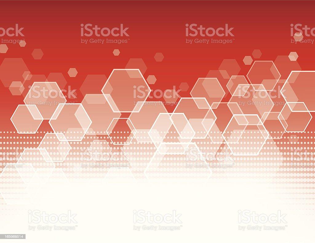 Poly shape pixels royalty-free stock vector art