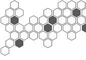 polygon background for christmas