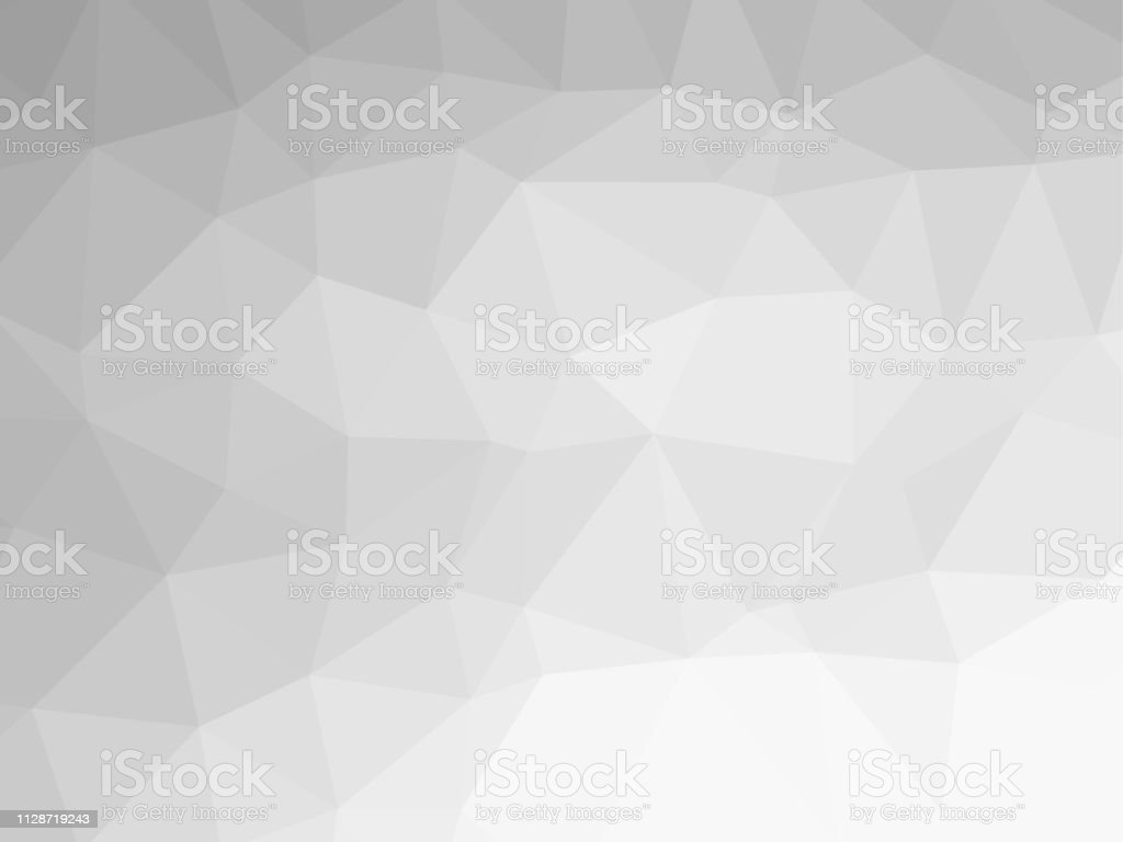Polygon Background Pattern Polygonal Black And White