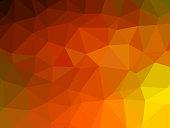 Polygon background pattern - polygonal - multicolored wallpaper - vector Illustration