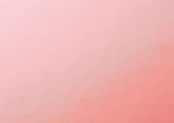 bildbanksillustrationer, clip art samt tecknat material och ikoner med polygon bakgrundsmönster - polygonal - rosa tapet - vektor illustration - rosa bakgrund