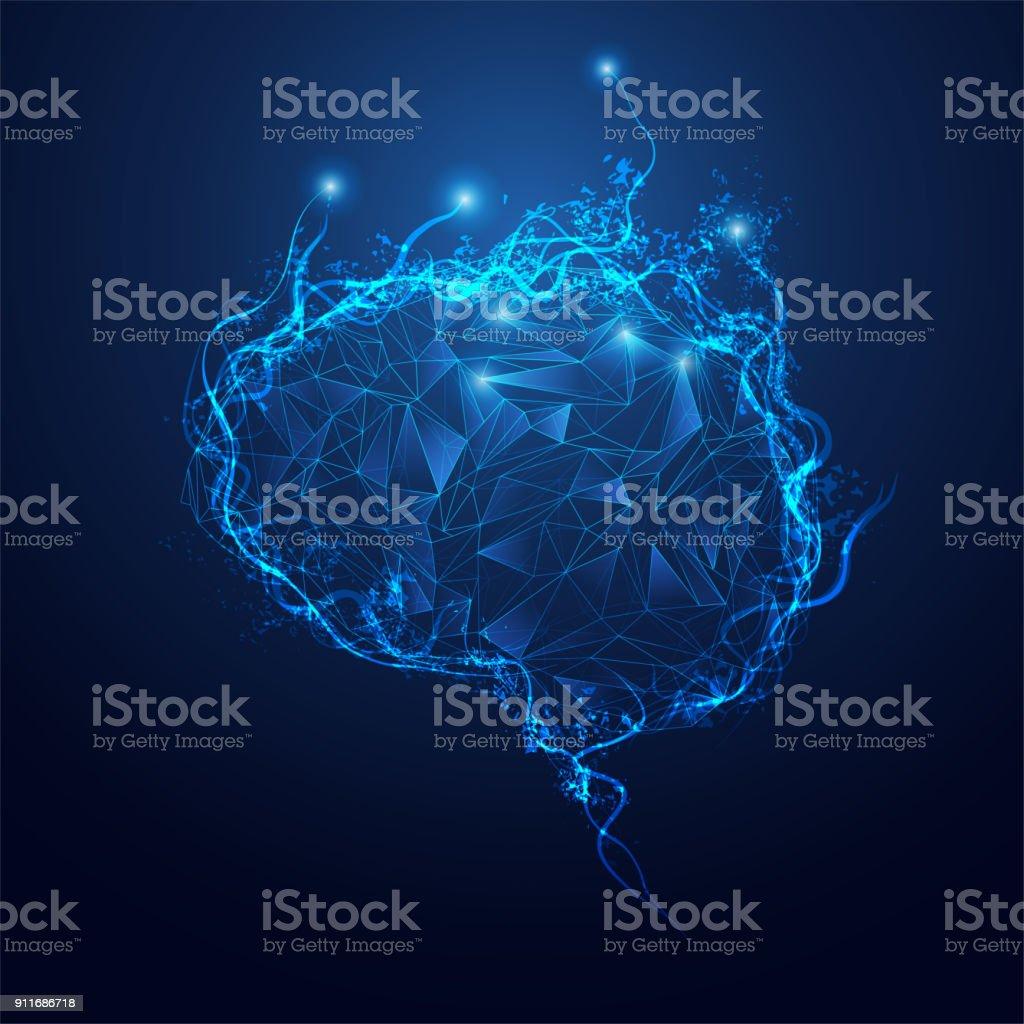 Polygon Brain