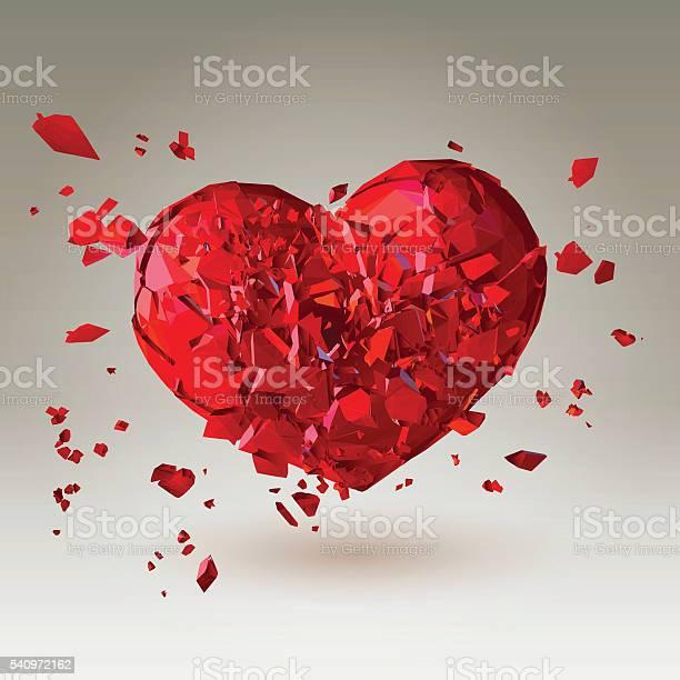 Polygonal 3d broken heart on low poly background vector id540972162?b=1&k=6&m=540972162&s=612x612&h=coizfm1 ezgp dguutl3hiw yufv7tzdytoedtzreas=