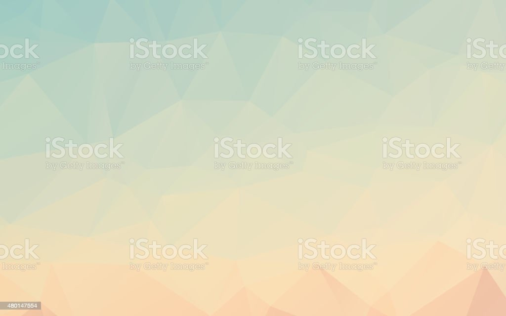 Polygonal Abstract Background vector art illustration