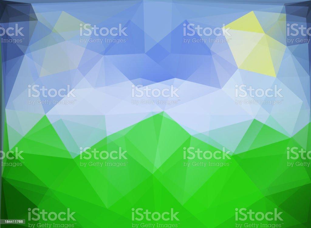 polygonal background royalty-free stock vector art