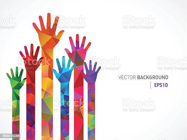 Polygonal colored human hands vector id636014286?b=1&k=6&m=636014286&s=612x612&h=i6l 0mrsixpniyoldtfwjsqxpfbkjyhtwabt77xr66i=