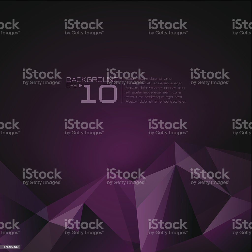 Polygonal design, Abstract geometrical background. royalty-free stock vector art