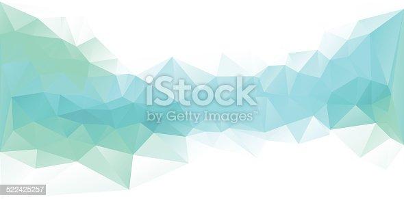 istock Polygonal Design Blue 522425257