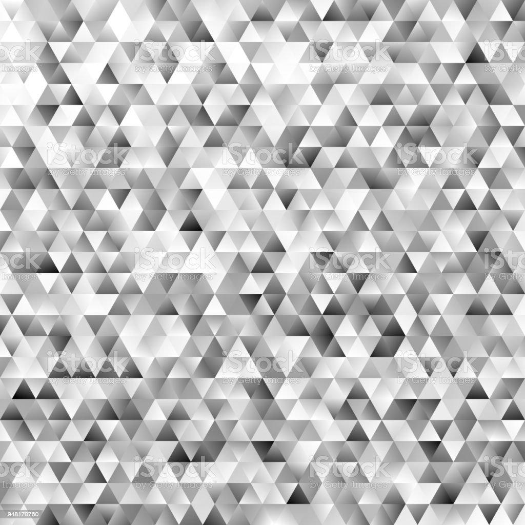 Polygonal Mosaic Triangular Polygon Pattern Background Stock