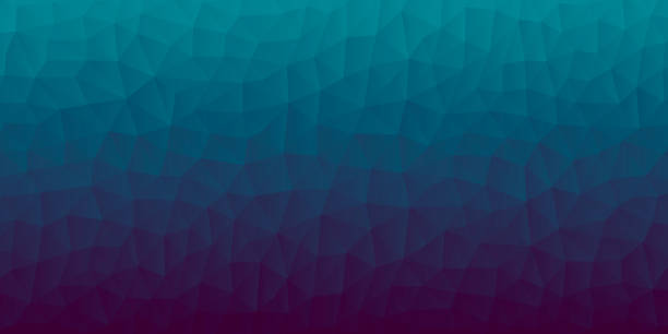 Polygonal mosaic with Blue gradient - Abstract geometric background - Low Poly vector art illustration
