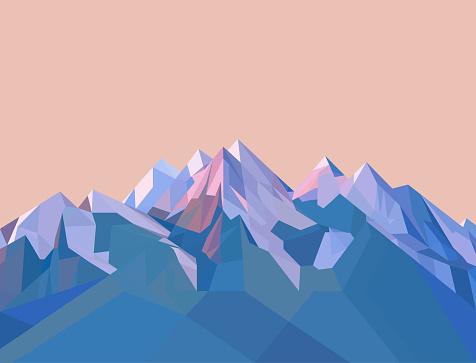 Mountain stock illustrations