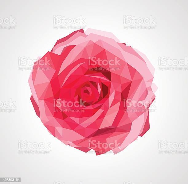 Polygonal rose that bloomed vector id497393154?b=1&k=6&m=497393154&s=612x612&h=  dm3z4s3nljhrr2vhz1mgtw8gofh5km0ebevvbxx8s=