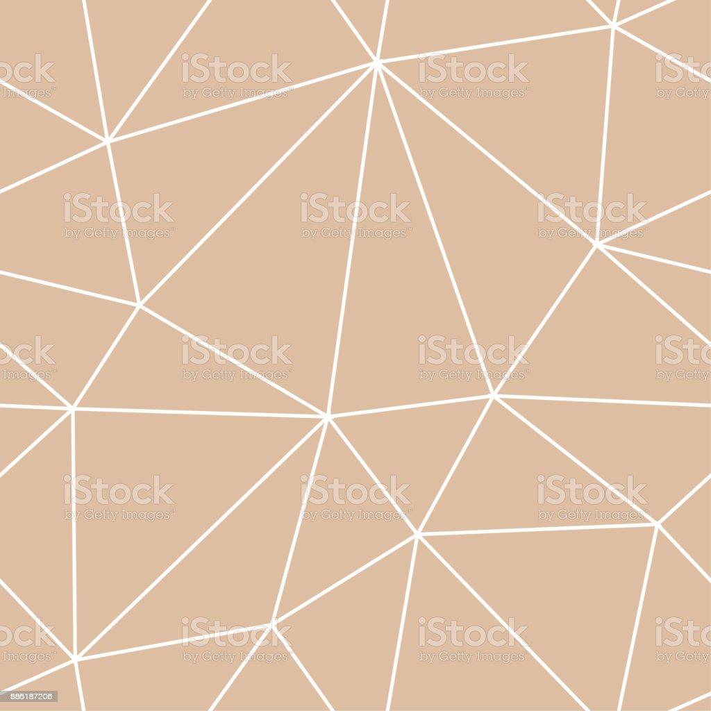 Arrièreplan Transparent Polygonale Géométrique Line Modèle Beige Et ...