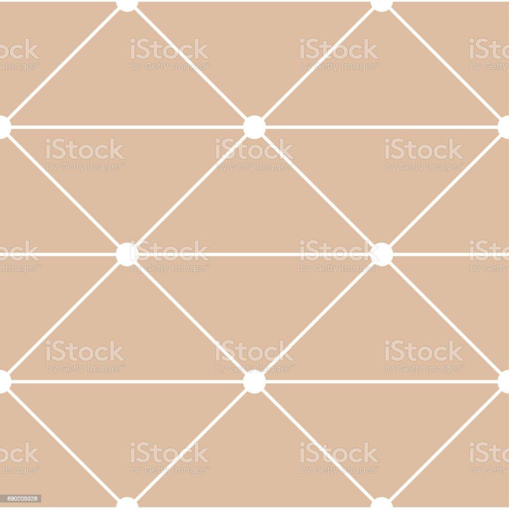 Arrière Plan Transparent Polygonale. Géométrique Line Modèle Beige Et Blanc  Pour Les Papiers Peints