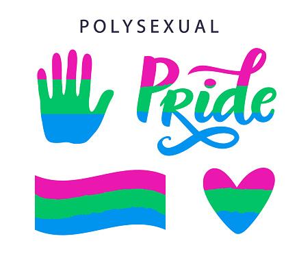 Polysexual movement pride symbols