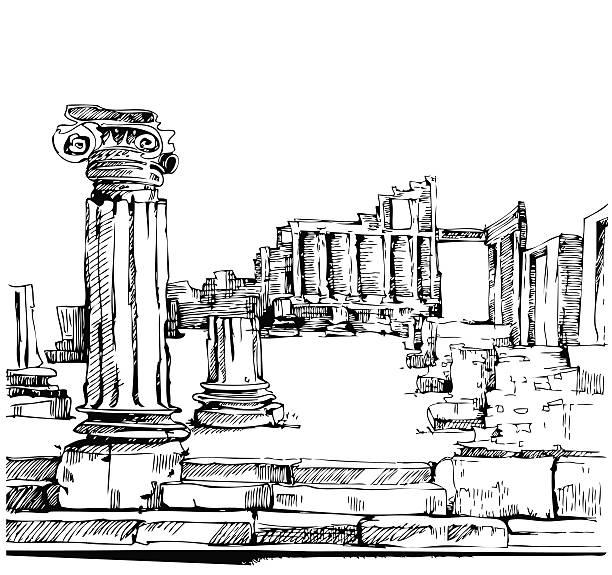 pompeji, italien - pompeii stock-grafiken, -clipart, -cartoons und -symbole