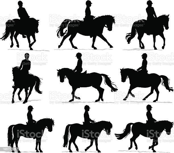 Pony rider silhouettes vector id165725257?b=1&k=6&m=165725257&s=612x612&h=ji593rxwzewdlvkn zmo6pnzox1xfhtgbitiks2h01a=