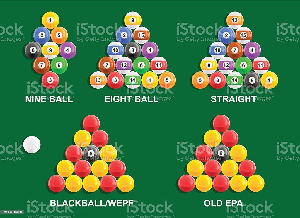 Pool Ball Racks