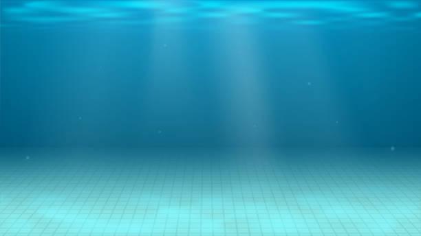 illustrations, cliparts, dessins animés et icônes de fond de piscine - piscine