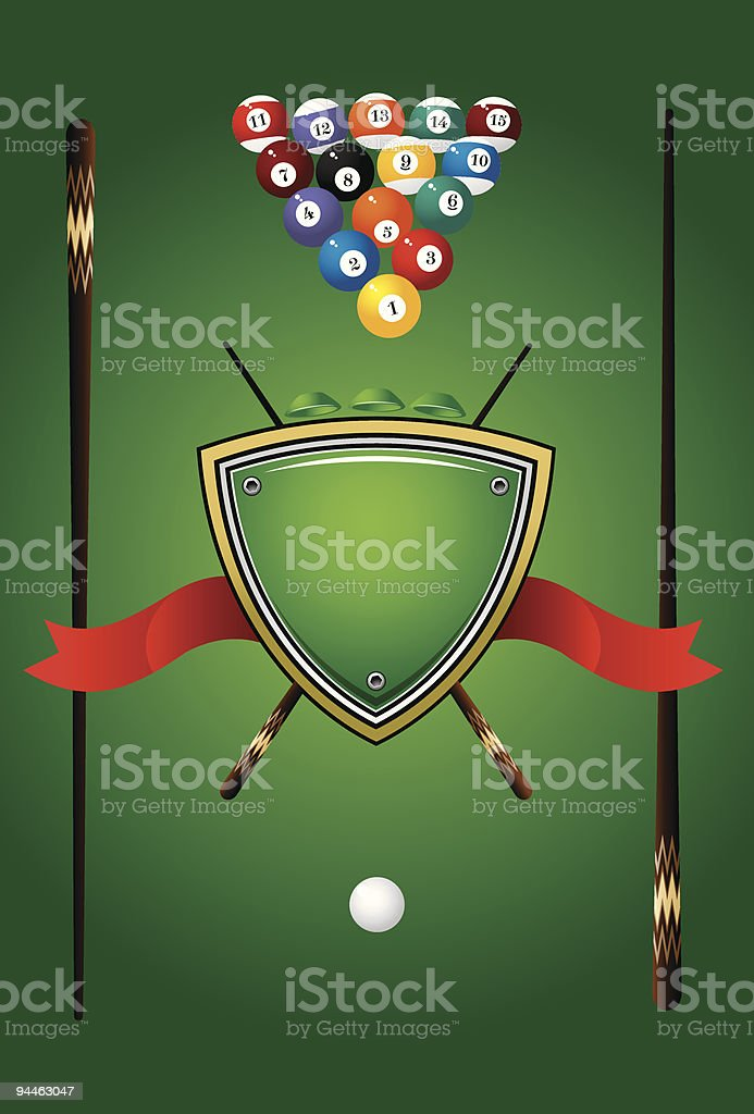 Pool Game royalty-free pool game stock vector art & more images of ball