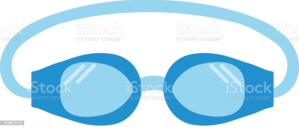 royalty free swimming goggles clip art vector images rh istockphoto com free swimming pool graphics clipart free swimming pool party clipart