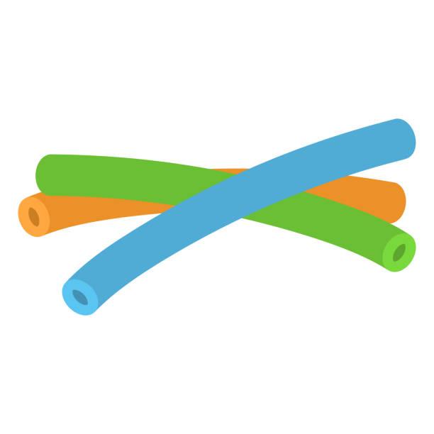 ilustrações de stock, clip art, desenhos animados e ícones de pool noodle floats - brinquedos na piscina
