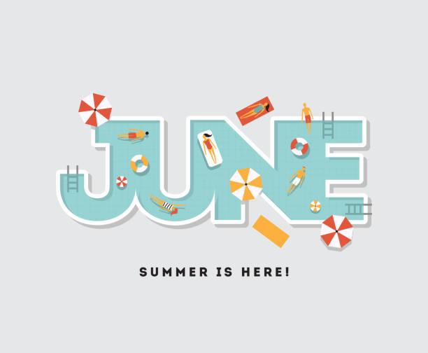 Calendar Clip Art May : Royalty free june clip art vector images illustrations