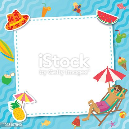 istock pool-party-template-relax 1058197940