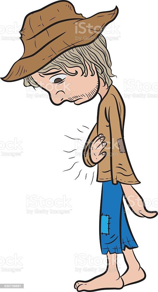 Poor man stock vector art 530758881 istock poor man royalty free stock vector art sciox Images