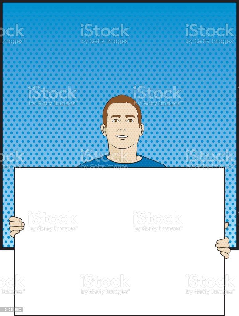 Pop Art 21 (vector & jpg) royalty-free stock vector art