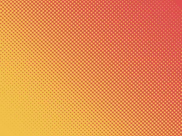 pop art background - orange color stock illustrations, clip art, cartoons, & icons