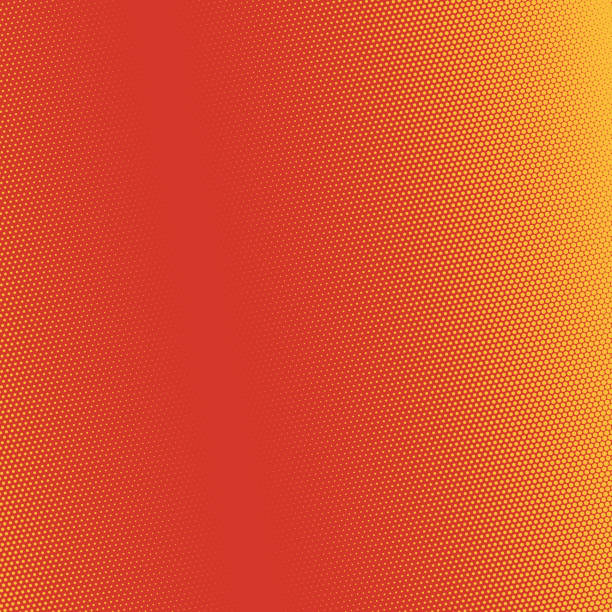 pop art background - orange color stock illustrations