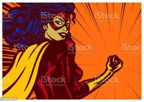 Pop art comics style superheroine with clenched fist female superhero vector id1050206744?b=1&k=6&m=1050206744&s=612x612&h= wqre9klpmnt8asvsqk hkgg6kx1gd9cnc5kqiaxp0m=