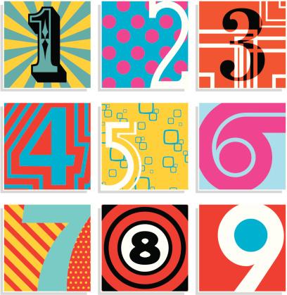 Pop Art Numbers