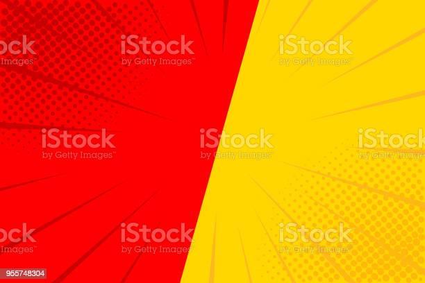 Pop art retro comic yellow and red background versus lightning blast vector id955748304?b=1&k=6&m=955748304&s=612x612&h=en7vuknumh0no4bdeuc3hnejoexsee5mtto23 g4nru=