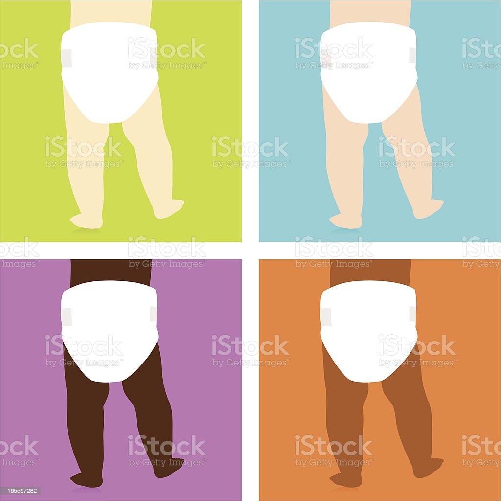 Todos tenemos la misma ilustración de todos tenemos la misma y más banco de imágenes de andar libre de derechos