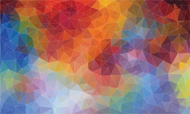 ilustrações, clipart, desenhos animados e ícones de pop malha triângulo de luz. backgound triângulo abstrato para web. - organic shapes