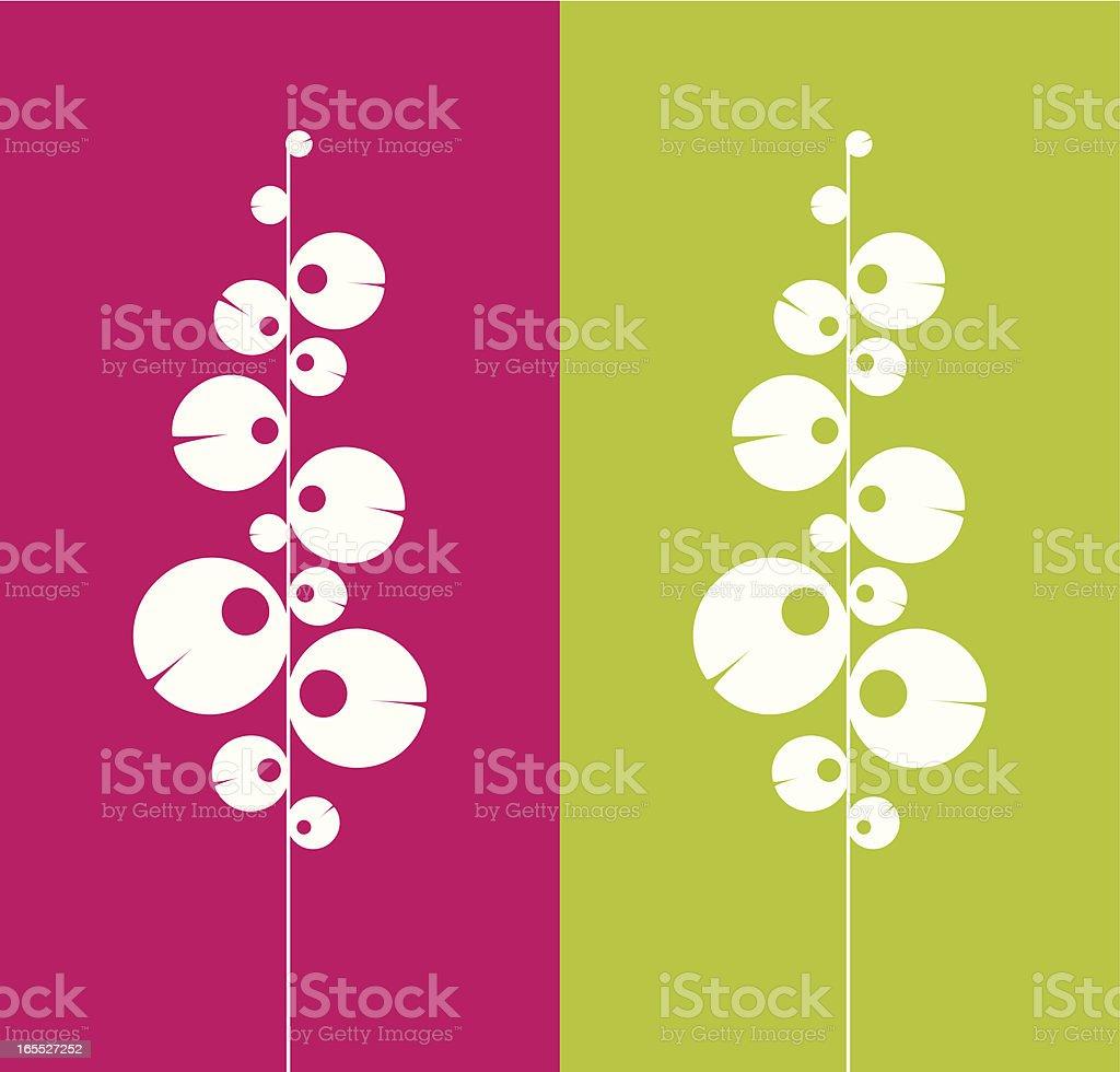 Pop tree royalty-free stock vector art