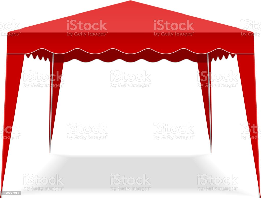 Pop Up Gazebo royalty-free pop up gazebo stock vector art & more images of canopy