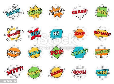 istock pop-art-pack-comic-stickers 1295939113