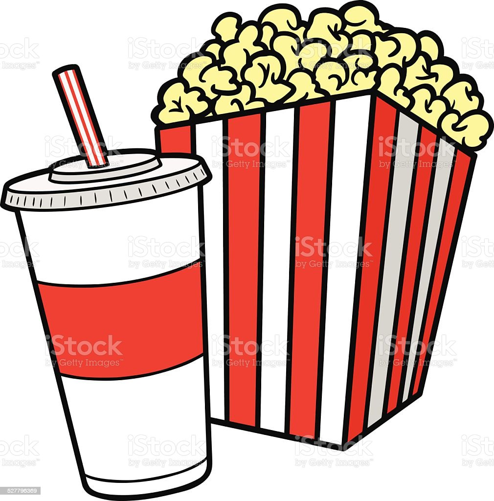 royalty free styrofoam popcorn clip art vector images rh istockphoto com popcorn clip art template popcorn clip art black and white