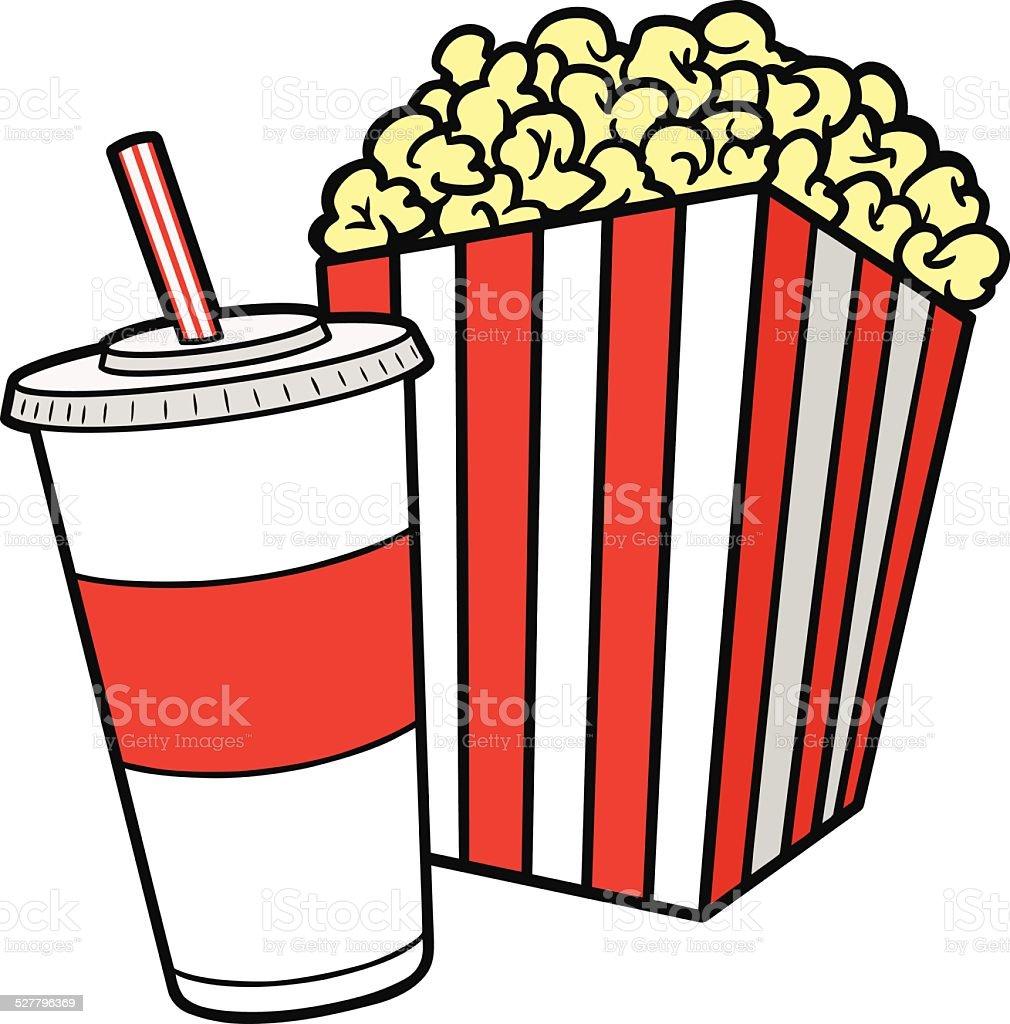 royalty free styrofoam popcorn clip art vector images rh istockphoto com clipart popcorn black and white clipart of popcorn bag