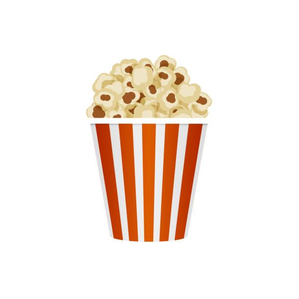 Popcorn Bucket Clipart