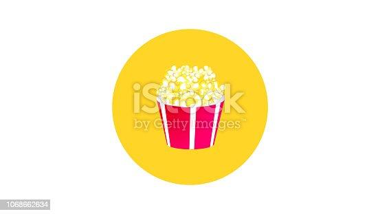 Popcorn Large Cup box icon