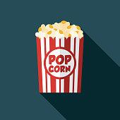 istock Popcorn Movie Icon 1124226818